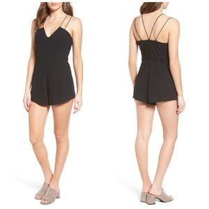 Leith Strappy Sweetheart Romper